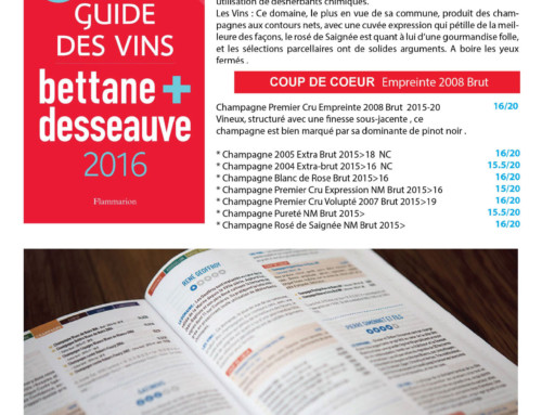 Guide Bettane + Desseauve 2016